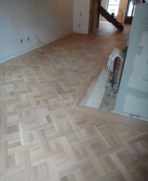living room parquet