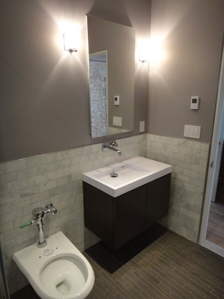 Sink &amp; Toilet in master bathroom